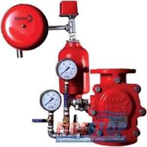 Узел управления водяным пожаротушением Duyar Y-4010