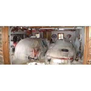 Водяное пожаротушение для защиты гаража