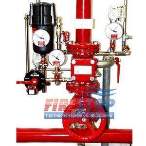 Узел управления водовоздушным пожаротушением Minimax TAV-TMX с обвязкой