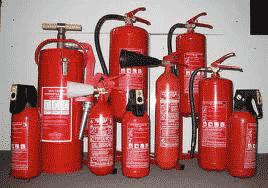 Огнетушители для защиты сауны
