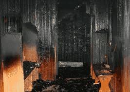 Сгоревшая сауна без пожарной защиты