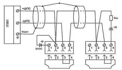 Подключение СПД-3 в линиюю переменного тока