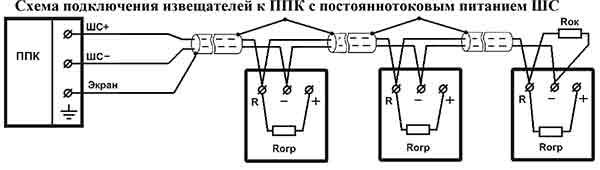 Схема подключения Артон ТПТ3 к 2х проводной постоянной линии