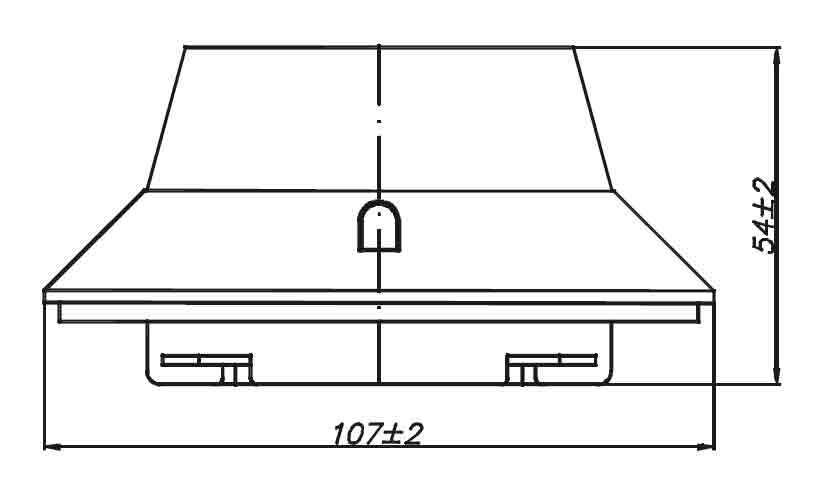 Габаритные размеры Polon PUO35